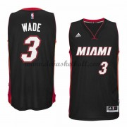 Miami Heat Basketball Trikots 2015-16 Dwyane Wade 3# Road Trikot Swingman..