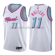 Miami Heat Basketball Trikots 2018 Dion Waiters 11# City Swingman..