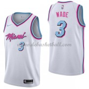 Miami Heat Basketball Trikots 2018 Dwyane Wade 3# City Swingman..