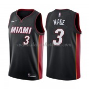 Miami Heat Basketball Trikots 2018 Dwyane Wade 3# Road Trikot Swingman..