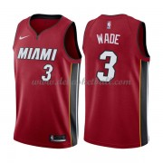 Miami Heat Basketball Trikots 2018 Dwyane Wade 3# Alternate Trikot Swingman..