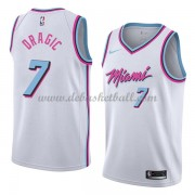 Miami Heat Basketball Trikots 2018 Goran Dragic 7# City Swingman..