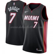 Miami Heat Basketball Trikots 2018 Goran Dragic 7# Road Trikot Swingman..