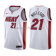 Miami Heat Basketball Trikots 2018 Hassan Whiteside 21# Home Trikot Swingman..