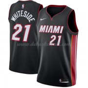 Miami Heat Basketball Trikots 2018 Hassan Whiteside 21# Road Trikot Swingman..