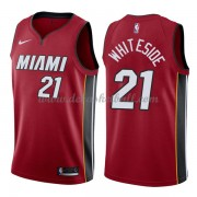 Miami Heat Basketball Trikots 2018 Hassan Whiteside 21# Alternate Trikot Swingman..