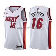 Miami Heat Basketball Trikots 2018 James Johnson 16# Home Trikot Swingman..