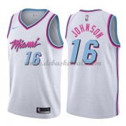 Miami Heat Basketball Trikots 2018 James Johnson 16# City Swingman..