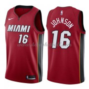 Miami Heat Basketball Trikots 2018 James Johnson 16# Alternate Trikot Swingman..