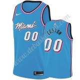 Miami Heat Basketball Trikots NBA 2019-20 Blau City Edition Swingman