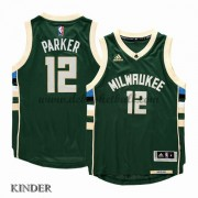 Basketball Trikot Kinder Milwaukee Bucks 2015-16 Jabari Parker 12# Road Swingman..