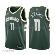 Basketball Trikot Kinder Milwaukee Bucks 2018 Brandon Jennings 11# Road Swingman..