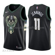 Basketball Trikot Kinder Milwaukee Bucks 2018 Brandon Jennings 11# Alternate Swingman..