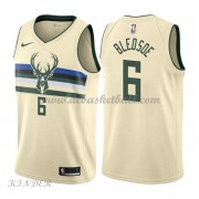 Basketball Trikot Kinder Milwaukee Bucks 2018 Eric Bledsoe 6# City Swingman..