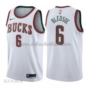 Basketball Trikot Kinder Milwaukee Bucks 2018 Eric Bledsoe 6# White Hardwood Classics Swingman..
