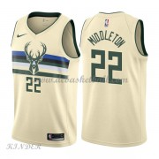 Basketball Trikot Kinder Milwaukee Bucks 2018 Khris Middleton 22# City Swingman..