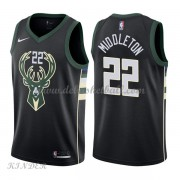 Basketball Trikot Kinder Milwaukee Bucks 2018 Khris Middleton 22# Alternate Swingman..