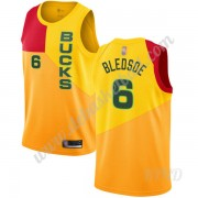Basketball Trikot Kinder Milwaukee Bucks 2019-20 Eric Bledsoe 6# Gelb City Edition Swingman..