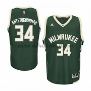 Milwaukee Bucks Basketball Trikots 2015-16 Giannis Antetokounmp 34# Road Trikot Swingman..
