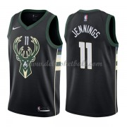Milwaukee Bucks Basketball Trikots 2018 Brandon Jennings 11# Alternate Trikot Swingman..
