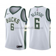 Milwaukee Bucks Basketball Trikots 2018 Eric Bledsoe 6# Home Trikot Swingman..