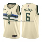 Milwaukee Bucks Basketball Trikots 2018 Eric Bledsoe 6# City Swingman..