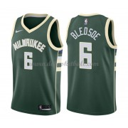 Milwaukee Bucks Basketball Trikots 2018 Eric Bledsoe 6# Road Trikot Swingman..