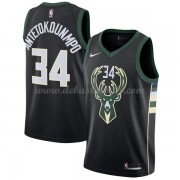 Milwaukee Bucks Basketball Trikots 2018 Giannis Antetokounmpo 34# Alternate Trikot Swingman..