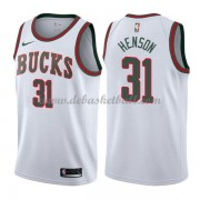 Milwaukee Bucks Basketball Trikots 2018 John Henson 31# White Hardwood Classics Swingman..
