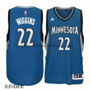 Basketball Trikot Kinder Minnesota Timberwolves 2015-16 Andrew Wiggins 22# Road Swingman..