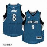 Basketball Trikot Kinder Minnesota Timberwolves 2015-16 Zach Lavine 8# Road Swingman..