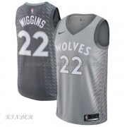 Basketball Trikot Kinder Minnesota Timberwolves 2018 Andrew Wiggins 22# City Swingman..