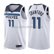 Basketball Trikot Kinder Minnesota Timberwolves 2018 Jamal Crawford 11# Home Swingman..