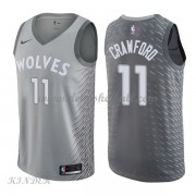 Basketball Trikot Kinder Minnesota Timberwolves 2018 Jamal Crawford 11# City Swingman..