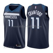 Basketball Trikot Kinder Minnesota Timberwolves 2018 Jamal Crawford 11# Road Swingman..