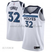Basketball Trikot Kinder Minnesota Timberwolves 2018 Karl Anthony Towns 32# Home Swingman..