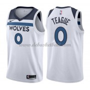 Minnesota Timberwolves Basketball Trikots 2018 Jeff Teague 0# Home Trikot Swingman..
