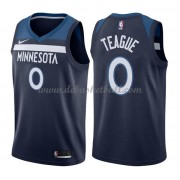 Minnesota Timberwolves Basketball Trikots 2018 Jeff Teague 0# Road Trikot Swingman..