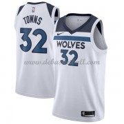 Minnesota Timberwolves Basketball Trikots 2018 Karl Anthony Towns 32# Home Trikot Swingman..