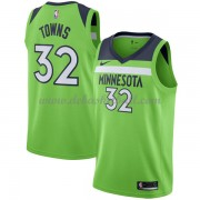 Minnesota Timberwolves Basketball Trikots 2018 Karl Anthony Towns 32# Alternate Trikot Swingman..