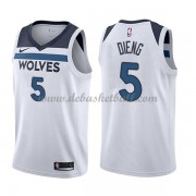 Minnesota Timberwolves Basketball Trikots 2018 Karl Gorgui Dieng 5# Home Trikot Swingman..