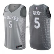 Minnesota Timberwolves Basketball Trikots 2018 Karl Gorgui Dieng 5# City Swingman..