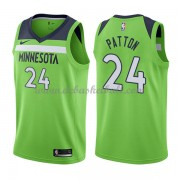 Minnesota Timberwolves Basketball Trikots 2018 Karl Justin Patton 24# Alternate Trikot Swingman..