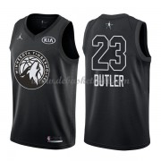 Minnesota Timberwolves Basketball Trikots Jimmy Butler 23# Black 2018 All Star Game Swingman..