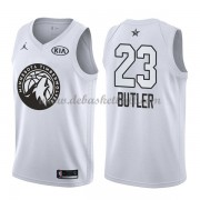 Minnesota Timberwolves Basketball Trikots Jimmy Butler 23# White 2018 All Star Game Swingman..