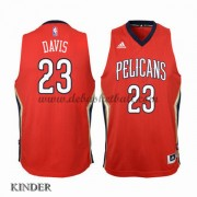 Basketball Trikot Kinder New Orleans Pelicans 2015-16 Anthony Davis 23# Alternate Swingman..