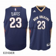 Basketball Trikot Kinder New Orleans Pelicans 2015-16 Anthony Davis 23# Road Swingman..