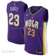 Basketball Trikot Kinder New Orleans Pelicans 2018 Anthony Davis 23# City Swingman..