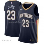 Basketball Trikot Kinder New Orleans Pelicans 2018 Anthony Davis 23# Road Swingman..