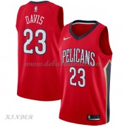 Basketball Trikot Kinder New Orleans Pelicans 2018 Anthony Davis 23# Alternate Swingman..
